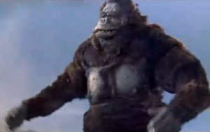 Perhaps the worst looking Kong in KING KONG VS. GODZILLA.